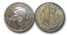 World Coins - EM509 - Great Britain,  George VI (1936-1952), Proof Cupro-Nickel Halfcrown, 1950