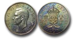 World Coins - MD1517 - Great Britain, 	George VI (1936-1952), Proof Cupro-Nickel Florin, 1950