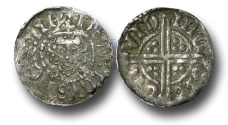 World Coins - VLC463 - ENGLAND, Henry III (1216-1272), Penny, 1.42g., Voided Long Cross Coinage, Class 3c, (1248-1250), Nicole - London