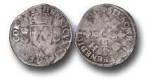 World Coins - ME33 – FRANCE, ROYAL COINAGE, Henri II (1559-1560), Silver Douzain aux Croissants, Paris mint