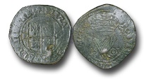 World Coins - IR1704 - IRELAND, Elizabeth I (1558-1603), Copper Penny, 2.55g., 21mm, Third Coinage, 1601