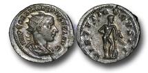 Ancient Coins - R2016 - Gordian III (A.D. 238-244), Silver Antoninianus, 4.02g., Rome mint, A.D. 241-243