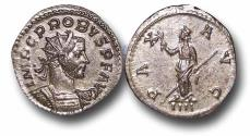 Ancient Coins - R18044 - Probus  (A.D. 276-282), Billon Reform Antoninianus, 3.29g., 23mm, Siscia mint (Sisak, Croatia)