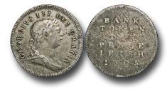 World Coins - IR9004 - IRELAND, George III (1760-1820), Bank of Ireland Coinage (1804-1813), Silver Ten Pence, Type I, 1805