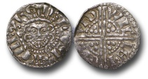 World Coins - TY11 - England, Henry III (1216-1272), Penny, 1.40g., 18mm, Voided Long Cross Coinage, Class 5c, (1251-1272), Willem - London
