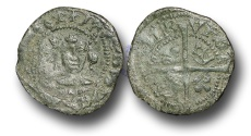 World Coins - SZ137  -  SCOTLAND, James IV (1488-1513), Billon Penny, 0.74g., 2nd Issue, type III, Edinburgh mint
