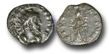 Ancient Coins - BR187 - The Gallic Empire, Tetricus I (A.D. 270-273), AE Antoninianus,  ex Braithwell Hoard, England, 2002.