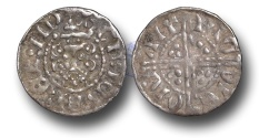 World Coins - VLC305 - ENGLAND, Henry III (1216-1272), Penny, 1.45g., Voided Long Cross Coinage, Class 3c (1248-1250), Nicole - Canterbury