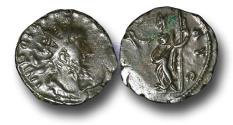 Ancient Coins - BR1229 - The Gallic Empire, Tetricus I (A.D. 270-273), AE Antoninianus, ex Braithwell Hoard (South Yorkshire, England)