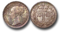 World Coins - EM631 - Great Britain, Victoria (1837-1901), Silver Maundy Penny,  1883