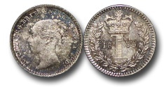 World Coins - EM571 - Great Britain, Victoria   (1837-1901), Silver Maundy Penny, 1869