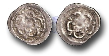 World Coins - H1089 - England, Charles I (1625-1649), Halfpenny, 0.21g., Tower Mint