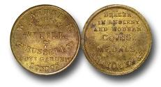 World Coins - EM249 - London, William Webster (1821-1885),  Coin Dealer, Brass Farthing