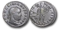 Ancient Coins - R18087 - Galerius as Augustus (A.D. 305-311), Follis, 6.33g., 26mm, Cyzicus mint (Belkis, Turkey), first officina, struck c. A.D. 308-09, AEF