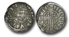 World Coins - VLC436 - ENGLAND, Henry III (1216-1272), Penny, 1.45g., Voided Long Cross Coinage, Class 3c, (1248-1250), Nicole - London