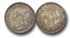 World Coins - EM494 - Great Britain, Victoria   (1837-1901), Silver Maundy Twopence, 1883
