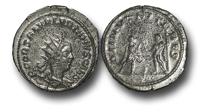 Ancient Coins - R16128 - Saloninus  (summer 260 A.D.), Silver Antoninianus, 4.20g., 22mm, uncertain field mint in the east