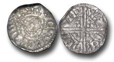 World Coins - VLC1334 - ENGLAND, Henry III (1216-1272), Penny, 1.44g., Voided Long Cross Coinage, Class 5c, (1251-1272), Walter - London