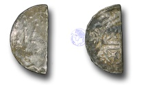 World Coins - SZ203 - SCOTLAND, William I 'The Lion' (1165-1214), Cut Halfpenny, 0.62g., Short Cross and Stars coinage, Phase B (c.1205-c.1230), the Edinburgh and Perth moneyers Hue and Walter
