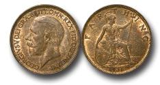 World Coins - EM482 – Great Britain, George V (1910-1936), Bronze Farthing, 1931