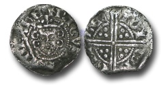 World Coins - VLC594 - ENGLAND, Henry III (1216-1272), Penny, 1.31g., Voided Long Cross Coinage, Class 5b2, (1248-1250), Gilbert - Canterbury