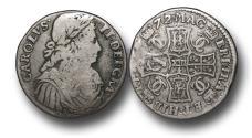 World Coins - S1677 - SCOTLAND, Charles II (1649-1685), Silver Merk (13/4 Scots), 5.77g., 26mm, 1672
