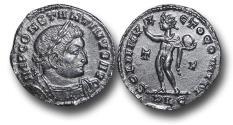 Ancient Coins - R18057 - Constantine I (A.D. 307-337), Bronze Reduced Follis, 2.84g., 20mm, Lugdunum mint