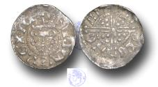 World Coins - VLC1111 - MEDIEVAL ENGLAND, Henry III (1216-1272), Penny, 1.47g., Voided Long Cross Coinage, Class 3c late, (1248-1250), Nicole - Canterbury
