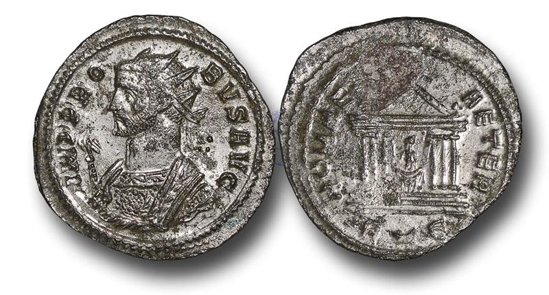 Ancient Coins - R16162 - Probus (A.D. 276-282), Billon Reform Antoninianus, 3.36g., 24mm, Rome mint, 5tht officina