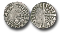 World Coins - H3194 - England, Edward I (1272-1307), Penny, 1.38g., New coinage, class 10ab5 (c. mid 1305 - c. mid 1306), London mint