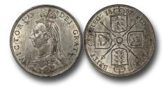 World Coins - MD1582 - Great Britain, Victoria  (1837-1901), Florin, 1887