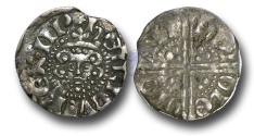 World Coins - VLC368 - ENGLAND, Henry III (1216-1272), Penny, Voided Long Cross Coinage, 1.29g., Class 3b, (1248-1250), Nicole - Canterbury