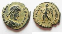 Ancient Coins - VALENS AE 3 . NICE DESERT PATINA