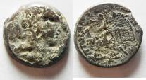 Ancient Coins - PTOLEMAIC KINGDOM. PTOLEMY VI AE 26 WITH ISIS