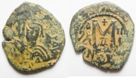 Ancient Coins - BYZANTINE AE FOLLIS