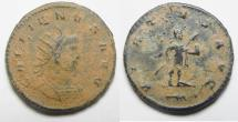 Ancient Coins - BEAUTIFUL AS FOUND ANTONINIANUS OF GALLIENUS