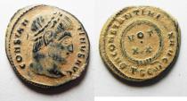 Ancient Coins - ORIGIANAL DESERT PATINA. CONSTANTINE AE 3