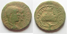 Ancient Coins -  Samaria. Neapolis under Philip I and Philip II (AD 247-249). AE 27mm, 11.69g.