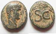 Ancient Coins - SYRIA, Seleukis and Pieria. Antioch. Augustus. 27 BC-14 AD