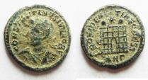 Ancient Coins - 	CONSTANTINE II AE 3. AS FOUND