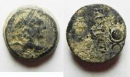 Ancient Coins - Seleukid Kingdom. Antiochos VII. AE 18
