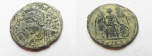 Ancient Coins - CONSTANTINE I AE 3 , COMMEMORATIVE , NICE COIN . ALEXANDRIA