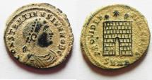Ancient Coins - ORIGINAL DESERT PATINA: CONSTANTINE II AE 3