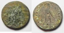 Ancient Coins - AS FOUND. PTOLEMAIC KINGDOM. PTOLEMY III AE 23. TYRE MINT