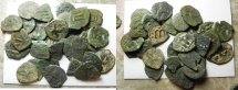 Ancient Coins - ARAB-BYZANTINE LOT OF 29 AE FALS. NICE QUALITY. NICE SELECTION