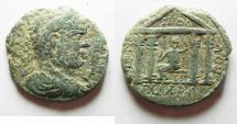 Ancient Coins - DECAPOLIS. GADARA. CARACALLA AE 25. AS FOUND
