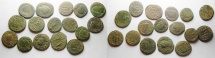Ancient Coins - LOT OF 16 ROMAN AEs