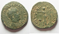 Ancient Coins - Apparently unpublished: Phoenicia. Tyre under Valerian I (AD 253-260). AE 30mm, 12.46g.