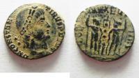 Ancient Coins - CONSTANTIUS II AE 4