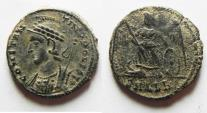 Ancient Coins - CHOICE COMMEMORATIVE ISSUE OF CONSTANTINE I THE GREAT. AE 3